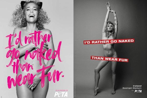 Go naked wear fur