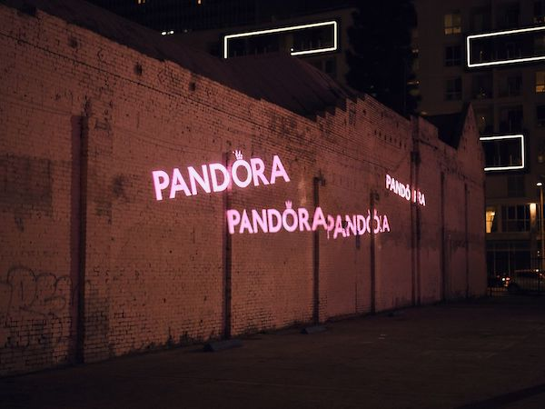 Pandora's Answer To Tiffany Blue Is Pink, As Part Of Rebrand With Fresh New Logo