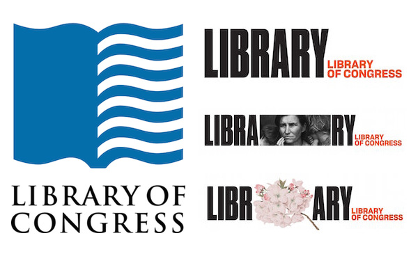 Pentagram's New Brand Identity For The World's Largest Library Divides Designers - DesignTAXI.com
