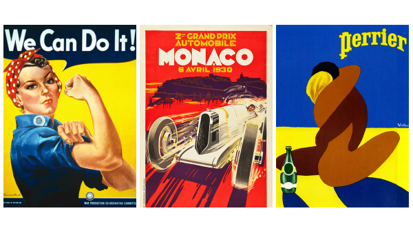 This Website Lets You Download, Print Old Graphic Design Posters For Free - DesignTAXI.com