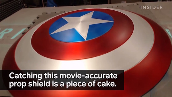 Watch YouTuber Makes Workable Captain America Shield That Returns