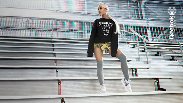 1032130b04dcad Ariana Grande Becomes Face Of Reebok s Unisex 90s Sneaker Campaign ...