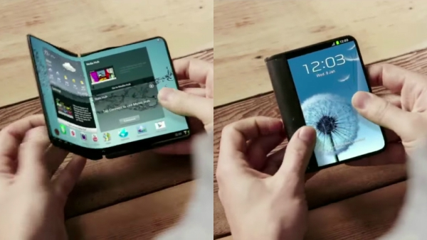 Samsung Foldable Phone Patents May 2018 1
