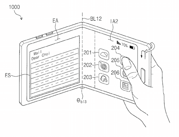 Samsung Foldable Phone Patents May 2018 3