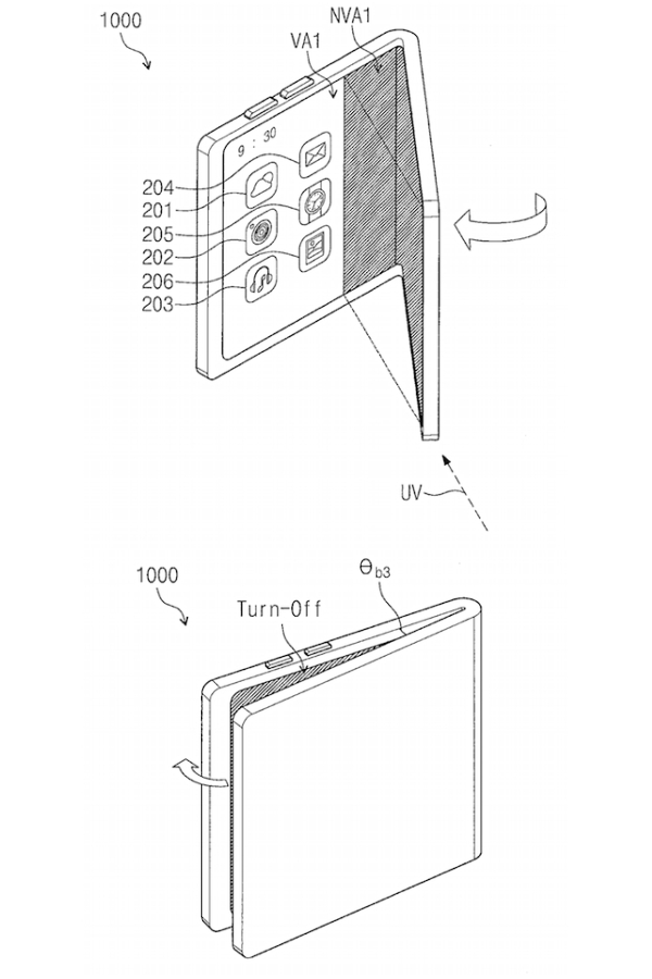 Samsung Foldable Phone Patents May 2018 5