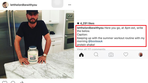 It Looks Like Someone Was A Tad Too Hasty In Publishing His Instagram Post Television Celebrity Scott Disick Of Keeping Up With The Kardashians Uploaded