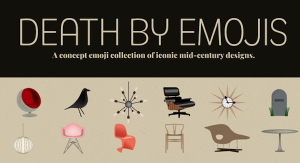 Zerchoo Art & Design - These Delightful Furniture Emojis