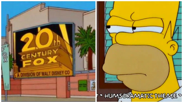 The Simpsons' Foresaw Disney Buying 21st Century Fox Among Other