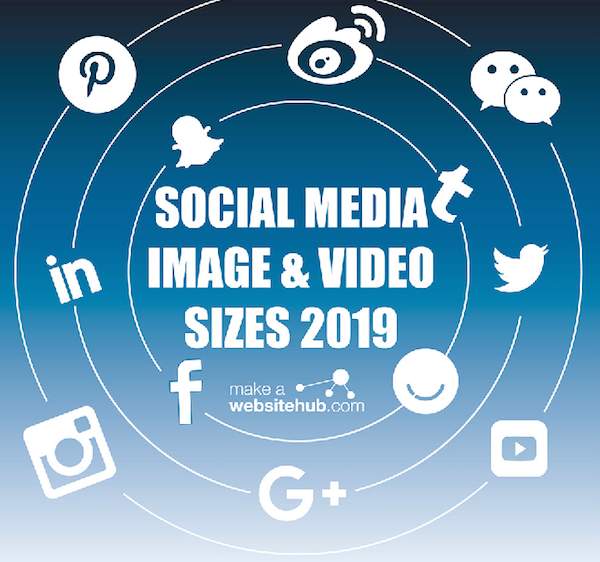 Infographic: 2019 Social Media Image And Video Sizes Cheat Sheet