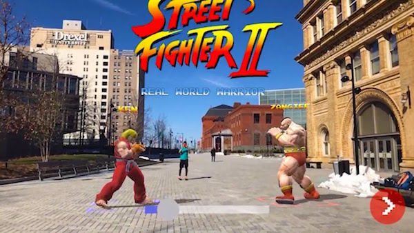 Street Fighter II' In AR Turns Your Reality Into Actual