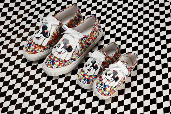 check out reputable site shoes for cheap Superga x Disney Celebrate 90th Birthday Of 'Mickey' With ...