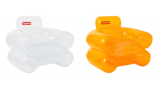 Supreme Has Revived A Popular 60u0027s Furniture Design By Way Of Its Latest  U0027Inflatable Chairu0027 Thatu0027s Part Of Its Fall/Winter 2018 Collection.