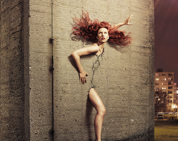 Photo Series Of Nude Women Breaking Free From 'The Wall' Will Cement Your Gaze