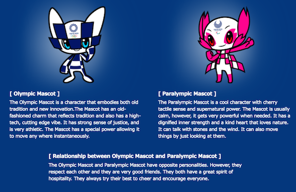 Tuned In Tokyo >> Tokyo 2020 Olympics' Mascot Contenders Revealed, Which Pair Is Your Favorite? - DesignTAXI.com