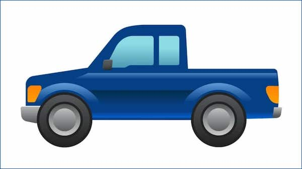 Ford's Latest Design Is Not A Car, But The World's First Pickup Truck Emoji