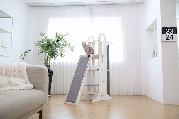 Stylish Minimalist Cat Furniture Could Be Cozy Abodes Of
