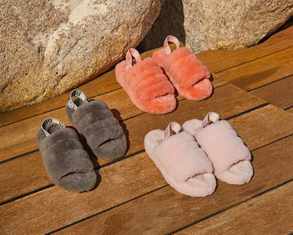 38c81ea885a UGG's 'Fluff Yeah Slide' Is The Coziest Not-Slipper-Not-Sandal For ...