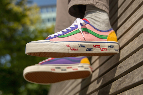050942020868 UK-based global supplier of footwear and apparels size  has given the Vans    Style 36  silhouette an adorably colorful redesign that will not only  instantly ...