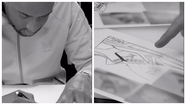Louis Vuitton Shares Sketches Of Virgil Abloh S First