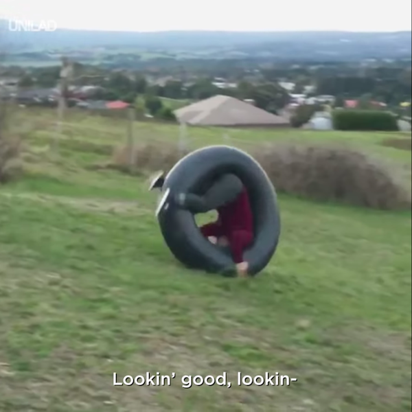 Heart Stopping Viral Stunt Video Brilliantly Turns Out To