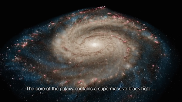 Watch: NASA Gives You A More Intimate Look At The Mesmerizing Whirlpool Galaxy