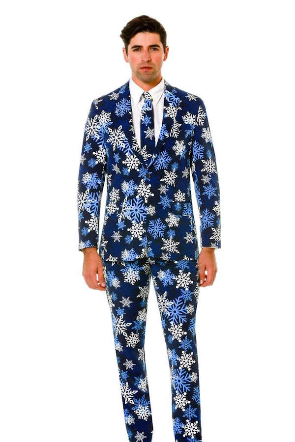 Christmas Sweater Suit.Suit Up For The Holidays With These Dapper Ugly Christmas