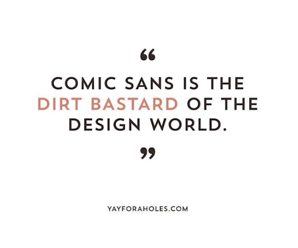 Humorous Instagram Account Pokes Fun At Various Fonts And Typefaces