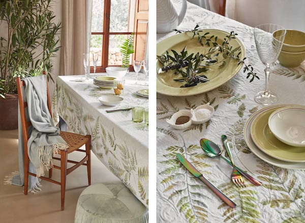 Zaras Spring Summer 2018 Home Collection Flaunts Faraway Resort