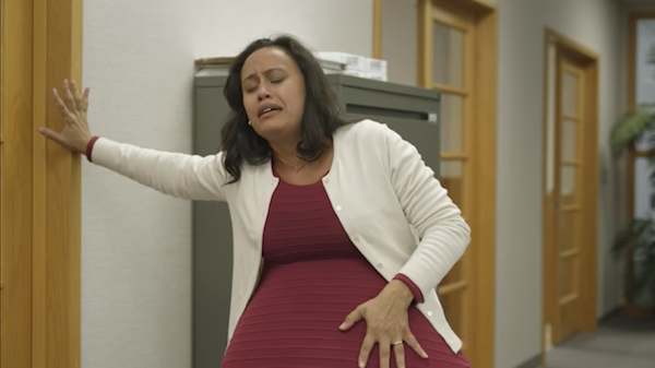 Quirky Psa Has 260-Weeks Pregnant Mom Rallying For Paid -1500