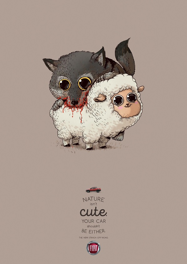 Adorable Fiat Ads Remind Us That Cars Shouldn't Be Cute
