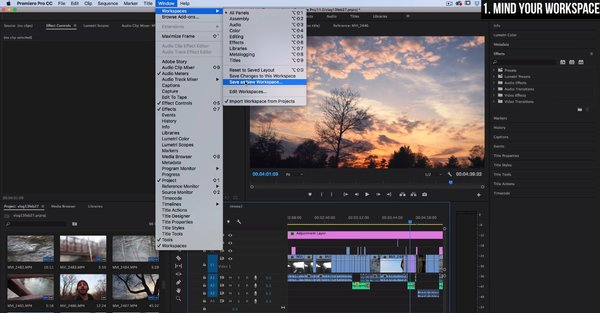 how to make a speed up video in adobe premiere