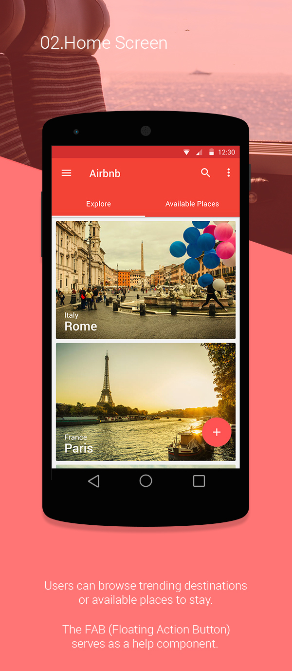 Sleek Redesigned Airbnb App Is Inspired By Google S New Material
