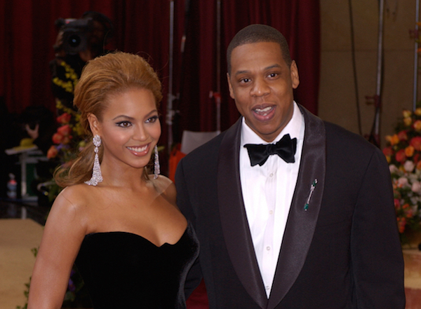 Nsfw Beyonc  Jay-Z Pose In The Nude For Their On The -9599