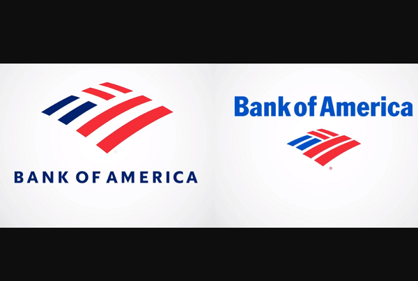 After 20 Years, Bank Of America Debuts New Logo With Deep Blue Typeface