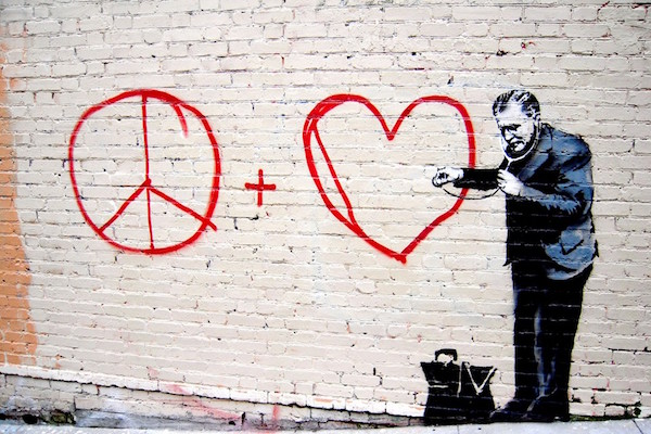 'Saving Banksy': How The Enigmatic Graffiti Artist Is A Modern Day Andy Warhol