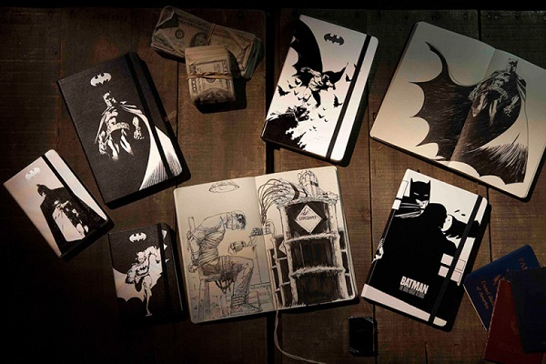 New Moleskine Notebook Collection Sees 'Batman' Come Alive On Paper