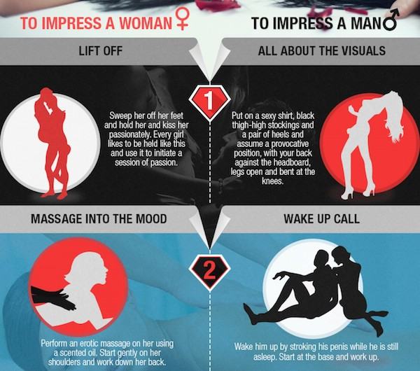 Ways to impress your man in bed