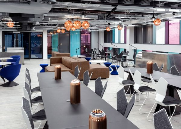 Atrium In Camden Market, London, Boasts A 84,000 Square Foot Space  Outfitted In Sleek And Modern Furnishing.