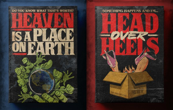 Famous 80s Pop Songs Reimagined As Amazing Vintage Covers Of Horror Novels