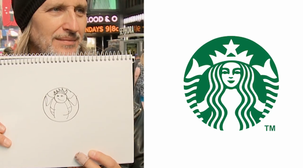 watch can you accurately draw popular brand logos from memory