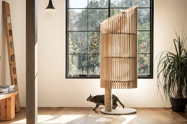 Japanese Designer Creates A Cat Tree That Your Feline