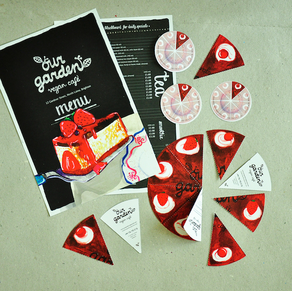 Cake Design Company Noida : Eye-Catching Business Cards That Look Like Slices Of ...