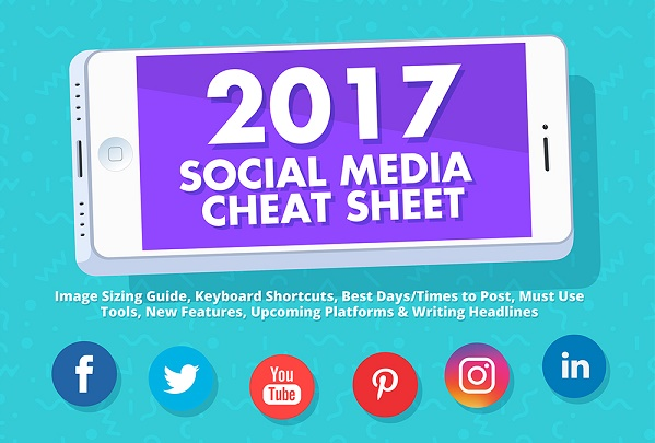 Infographic: Social Media Cheat Sheet For 2017