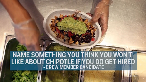 chipotle job interview questions