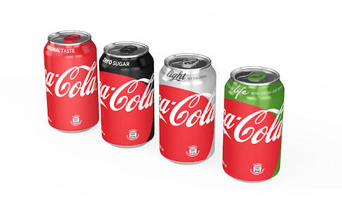 Coca-Cola Unveils New 'Red Disc' Brand Identity To Unify Its Drinks - DesignTAXI.com