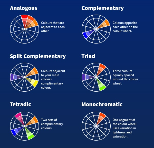 Colors That Go Together infographic: how to choose colors that go well together