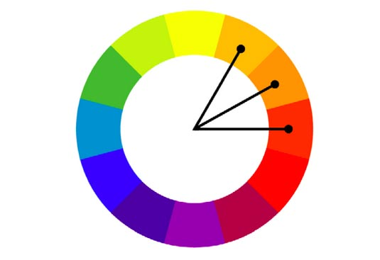Graphic designer explains the most common and successful - Analogous color scheme definition ...