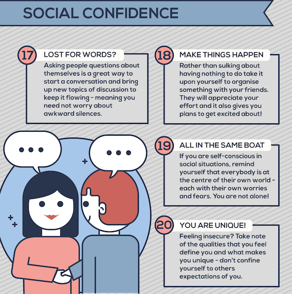 self confidence at work tips
