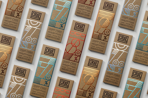 Gorgeous Hot Foil Chocolate Packaging That Makes Snacking Glamorous
