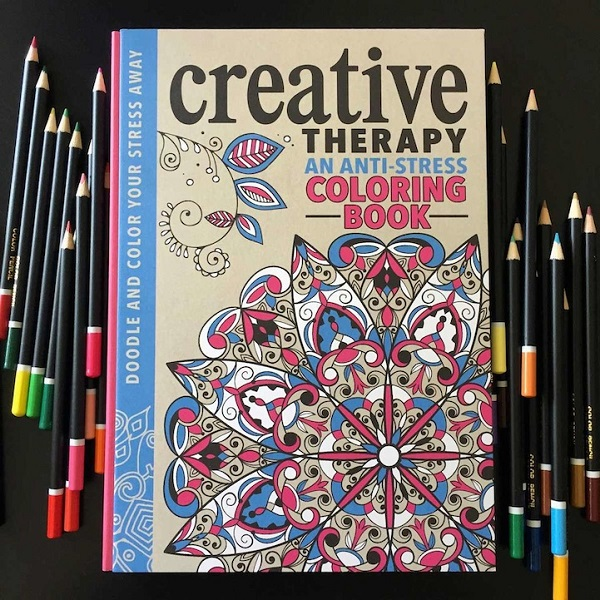 Anti Stress Coloring Book Lets Adults Color In Intricate Patterns As Therapy